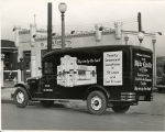 White Castle delivery truck, St. Louis, Missouri