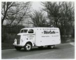 White Castle delivery truck for buns and pastry, St. Louis, Missouri