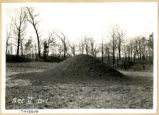 Fort Ancient restored mound photograph