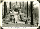 Fort Ancient lookout platform photograph