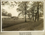 Licking County Fairground buildings photograph