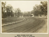 Moundbuilders race track photograph