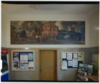 Ohio post office artwork, Crestline