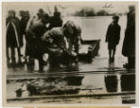 Portsmouth 1937 flood, WPA worker dies in flood rescue attempt