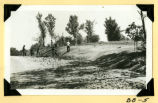 Fort Hill, berm grading photograph