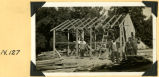 Fort Hill, partially constructed tool conditioning shop photograph