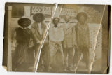 Five Liberian Men photograph