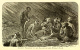 'Escaping Prisoners Fed by Negroes in their Master's Barn' illustration
