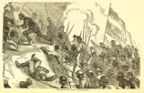 'Charge of The Phalanx' illustration