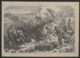'A Negro Regiment In Action' illustration