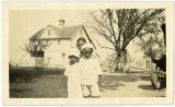 Charles Noel Young and unidentified children photograph