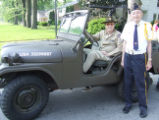 Earl Orendorff and Bob Greenler (In Jeep) Parade 2006
