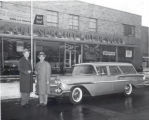 Carl Schmidt's Chevrolet dealership. 330 Louisiana Avenue