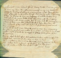 Joshua Evens letter to Thomas Rotch, 14th 4 mo 1795