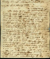 W.R. Dickinson letter to Charity Rotch, Steubenville Novr 4th 1813