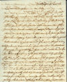 William Rotch, Sr. letter to Charity Rotch, New Bedford 3d mo 6th 1806