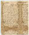 William Rotch Jr. letter to Maria Imlay, New Bedford 7 mo 3. 1826