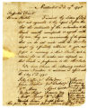 Thomas Coffin letter to Thomas Rotch, Nantucket, 3rd mo 19th 1795