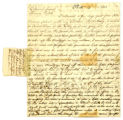 Thomas Coffin letter to Thomas Rotch, Philadelphia, 27th 5th mo 1813
