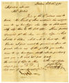 Joseph Hussey letter to Thomas Rotch, Boston, 21st October 1795
