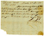 Joseph Hussey letter to Thomas Rotch, Boston 6th June 1793