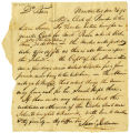 Samuel Rodman letter to Thomas Rotch, Nantucket, 10 mo 26. 95