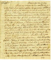 Samuel Rodman letter to Thomas Rotch, Nantucket 12 mo 7 1791