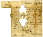 Thomas Townsend letter to Thomas Rotch, Wooster, 28th of 8 mo 1821