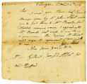 Gilbert J Abbot Jr letter, Ellington, Nov 1, 1809