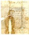 James W. Lathrop letter to Thomas Rotch, Canton, July 9, 1822