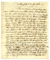 Matthew Franklin letter to Charity Rotch, New York, 5 mo 13, 1806