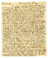 Samuel R. Fisher letter to Thomas Rotch, Philadelphia 1st mo 6th 1809
