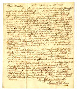 Samuel R. Fisher letter to Thomas Rotch, Philadelphia 9 mo 23, 1813