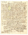 Samuel R. Fisher letter to Thomas Rotch, Philadelphia, 3 mo 19, 1822
