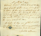 Mahlon Wileman letter to Thomas Rotch, 8th month 14th 1820