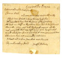 Joseph Hobson letter to Thomas Rotch, Cross Creek, 5th mo 8th day 1813
