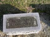 Tombstone of Wallace W. Lewis