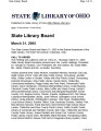 State Library Board Meeting Minutes