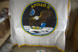 Apollo 11 mission flag