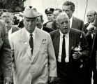 Roswell Garst and Nikita Khrushchev photograph