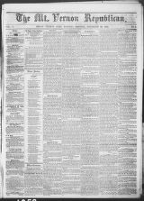 Mt. Vernon Republican (Mount Vernon, Ohio : 1854), 1858-11-30