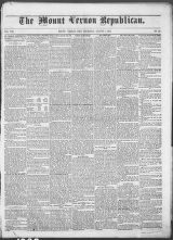 Mt. Vernon Republican (Mount Vernon, Ohio : 1854), 1862-08-07