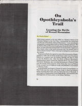 1985, Opothleyahola's Trail by...
