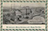 Christmas, Gypsum Mill at Gypsum, Ohio, The Fishack Gypsum Co., Toledo, Ohio.