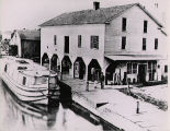 Miami and Erie Canal, at Rupps Store, Waterville, Ohio, 1888