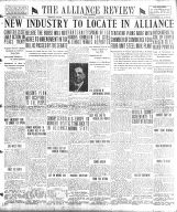 The Alliance review and leader. (Alliance, Ohio),  1920-01-23