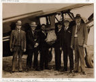 First Air-Mail Flight to Put-in Bay, Ohio from Port Clinton, Ohio