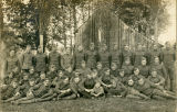 Non-Commissioned Officers of Company H, 330th Infantry in France