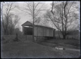 Covered bridge in Sunbury, Ohio photograph