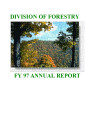 Division of Forestry ... annual report.